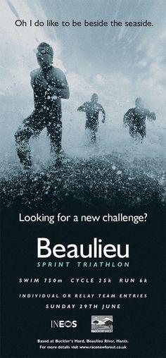 Beaulieu Sprint Triathlon comms