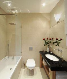 Trend Im Badezimmer: Anthrazitfarbene, Großflächige Fliesen. Zeitlose  Eleganz Pur! | Badezimmer | Pinterest