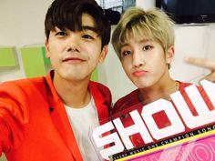Eric Nam and Jinjin
