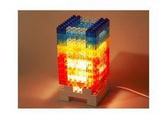 Siempre Quise Uno: DIY Lego Block Lámpara - Kichink!