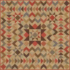 Moda Fabrics Jo Morton Gratitude Reproduction Floral Quilt Pattern | Patterns…