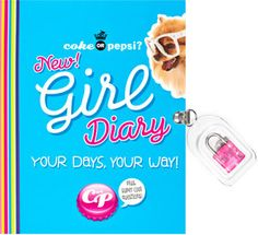 Coke or Pepsi? New! Girl Diary