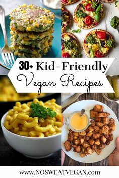 Whether you're cooking for kids who are new to plant-based eating or you're just looking to update your current rotation of meals, this list of delicious Vegan Recipes for Kids will have you covered. Breakfast, lunch, snacks, & dinner are all included. #vegankidsmeals #veganrecipesforkids #healthykidsrecipes #vegankidslunch #vegankidsbreakfast #veganlunbox #healthylunch #healthydinner #healthysnacks #vegankidsbreakfast Plant Based Meal Planning, Plant Based Eating, Whole Food Recipes, Cooking Recipes, Delicious Vegan Recipes, Vegan Dinners, Plant Based Recipes, Kids Meals, Healthy Snacks