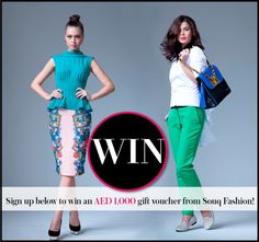 UAE Competitions: Win an AED 1,000 Gift Voucher from Souq Fashion!
