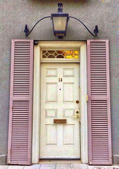 Best Design Of Wooden Entreance Doors For Your Vintage Home - TopDesignIdeas Entrance Doors, Doorway, Old Doors, Windows And Doors, Door Gate, Unique Doors, Door Knockers, Interior Barn Doors, Stairway