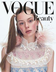 Lauren de Graaf on Vogue Japan April 2017 Beauty Supplement Cover Vogue Japan, Vogue Russia, Beauty P, Vogue Beauty, Vogue Magazine Covers, Vogue Covers, Magazin Covers, Fashion Cover, Japan Fashion