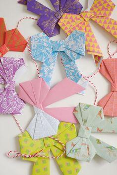 Wimke: Origamibow DIY