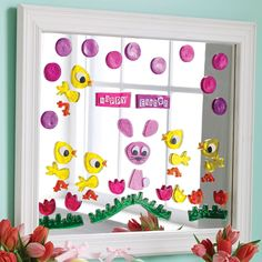 Add some Easter fun to your windows & mirrors with our Gelwonder window clings! #Gelwonder #Easter #Decorations #Decorative #EasterBunny #Bunny #Chick #DesignIdeas #Fun #Creative #BeCreative   Shop the whole collection at www.homearama.co.uk