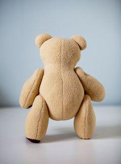 Items similar to Classic Teddy Bear Handmade Plush Softie OOAK on Etsy Dinosaur Stuffed Animal, Teddy Bear, Trending Outfits, Toys, Classic, Handmade Gifts, Cute, Baby, Animals