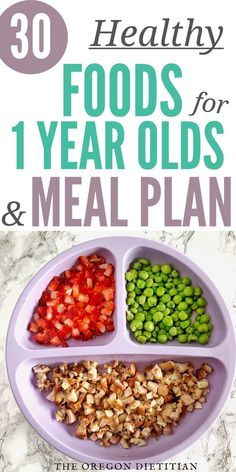 30 Healthy Finger Foods For 1 Year Olds