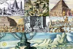The Seven Wonders of the Ancient World are seven awe-inspiring monuments of classical antiquity that reflect the skill and ingenuity of their creators. The list, comprised by ancient Greek histo
