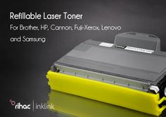 New Product release:  Refillable laser toner for Brother,HP,Cannon,Fuji-Xerox,Lenovo and Samsung. http://www.rihac.com.au/laser-toner-c-231.htm l Key Features: · World first in Toner supplies · Easily refilled and emptied · Exactly matched prints to OEM's on 100% quality · Designed specifically to be refilled 3 times · Environmentally friendly, that's 3 less cartridges that can be found in landfill  #ink #savings