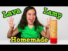 HOW TO MAKE HOMEMADE LAVA LAMP - Lots of simple science experiment videos.  So nice because it's less intimidating!