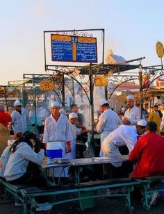 djemaa el fna, marrakech, marroc
