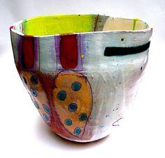 Three stem pot 2013 https://www.pinterest.com/source/lindastylesceramics.co.uk/