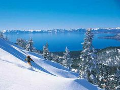 You have a lakefront beach during the summer and skilling/snowboarding during the winter-what's not to like about Lake Tahoe?