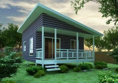 The Chalet 45 Granny Flat Kit Home, the company is out of Australia.