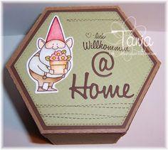 Kulricke @ Home Stanze, Kulricke Baby Strampler Stempelset (Willkommen)