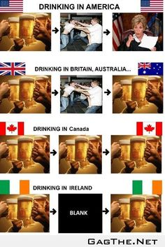 Drinking Around the World.  That's def how we Canadians do it!
