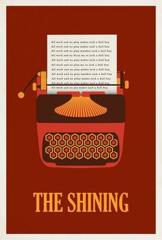 The Shining ~ Minimal Movie Poster by Matt Owen The Shining Poster, Stephen King Tattoos, Doctor Sleep, Minimal Movie Posters, Alternative Movie Posters, Movie Poster Art, Custom Canvas, Book Projects, Motion Design