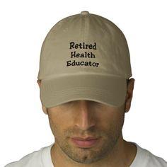 Retired Health Educator Baseball Cap