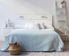 Cabecero de cama DIY personalizado
