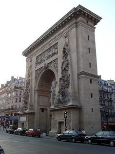 #París: Porte Saint-Denis construido por orden de Luiz XIV http://www.viajaraparis.com/?page=republica.php