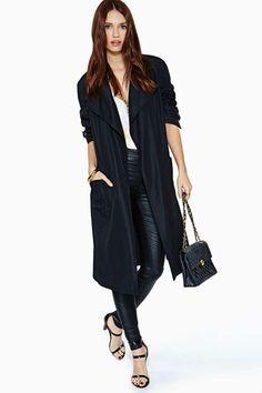 Vintage Chanel Aurore Silk Trench Coat