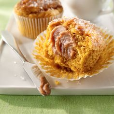 Sparkling Pumpkin Muffins Recipe from Land O'Lakes