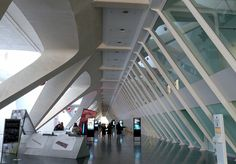 Entering the Museum of Science, Valencia Spain
