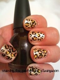 short French nail  design so cute!