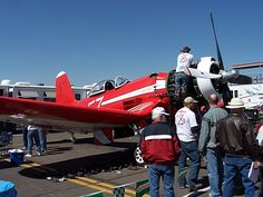 Stead Air Base is the scene of the Reno Air Races, held every September in Reno, NV