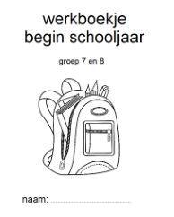Kennismakingsactiviteiten begin schooljaar