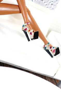handpainted ,multicolor animal print shoes | Flickr - Photo Sharing!