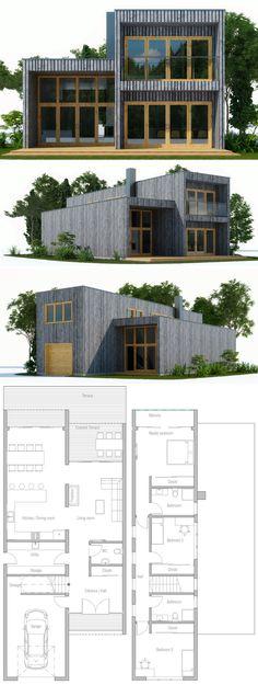 Modern Modular Home Plan, Shipping container house design