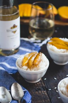 This recipe is a tried and true version, slightly adapted from one of my favorite Thai restaurants, only with a twist on coconut sticky rice's traditional accompaniment, fresh mango. To spice things up a bit, I instead caramelized the mango in a light, golden caramel sauce made from brown sugar and infused with fragrant green cardamom.