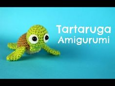 """Ciao a tutti!! In questo nuovo video andremo a vedere come fare questa bellissima tartaruga in amigurumi :D Vi invito a mettere """"mi piace"""" al video se vi pia..."""