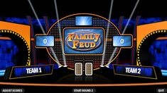 The awesome 4 Best Free Family Feud Powerpoint Templates Pertaining To Family Feud Game Template Powerpoint Free photo below, is … Powerpoint Game Templates, Powerpoint Background Templates, Powerpoint Slide Designs, Powerpoint Template Free, Creative Powerpoint, Family Feud Fast Money, Family Feud Game, Family Games, Family Feud Template