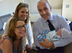 Savannah Guthrie Introduces Baby Vale to Matt Lauer and Natalie Morales, Was Shocked to Have a Girl