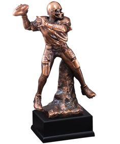 Show details for Classic Football Quarterback Football Trophies, Halloween Art, Design Inspiration, Sculpture, Statue, Classic, Derby, Halloween Crafts, Sculptures