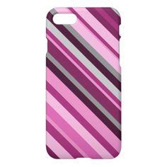 Pink, Purple, Grey Stripes
