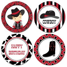 Pegatinas fiesta vaquera Horse Birthday Parties, Cowboy Birthday Party, Cowgirl Party, Birthday Party Themes, Cowboy Theme, Cowboy And Cowgirl, Cumple Toy Story, Wild West Party, Western Parties