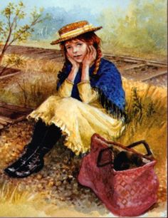 """Cover art for an edition of """"Anne of Green Gables"""""""