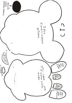 Free Download re re moldes de mickey santa ke caminata nos comparti en el foro 11 1 | homehow.net