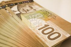canadian money stacks - Google Search More
