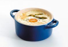 Baked Eggs - Le Creuset Stoneware 10cm Mini cocotte