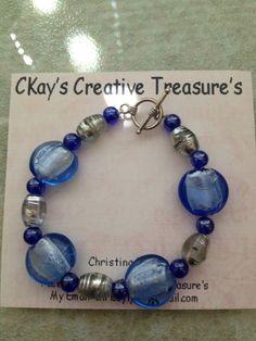 Handmade beaded bracelet women's beaded by ckayscraftytreasures, $8.00