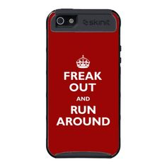 Freak Out and Run Around Cover For iPhone 5