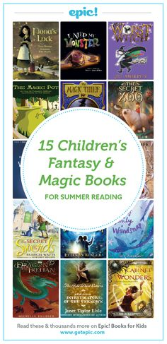 Witches, wizards and magical creatures! Sign up to access these books and discover even more great books this summer with our 2016 Summer Reading Lists!