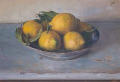 Daily painting Postcard from Provence, a painting a day by Julian Merrow-Smith; paintings fresh daily from the British painter's studio in Provence Lemon Painting, Fruit Painting, Painting Collage, Paintings I Love, Painters Studio, Still Life Fruit, Still Life Oil Painting, Fruit Art, Art Oil